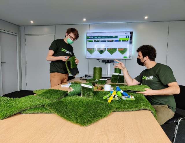What types of artificial grass are there?